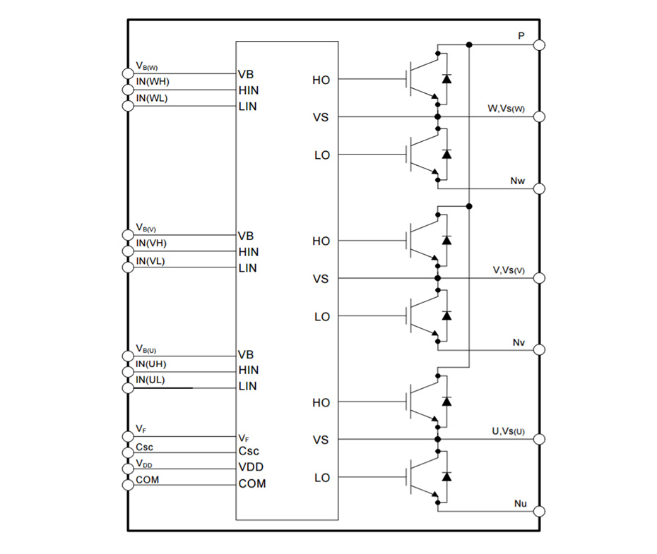 FNB51060T1Motion SPM®55 系列