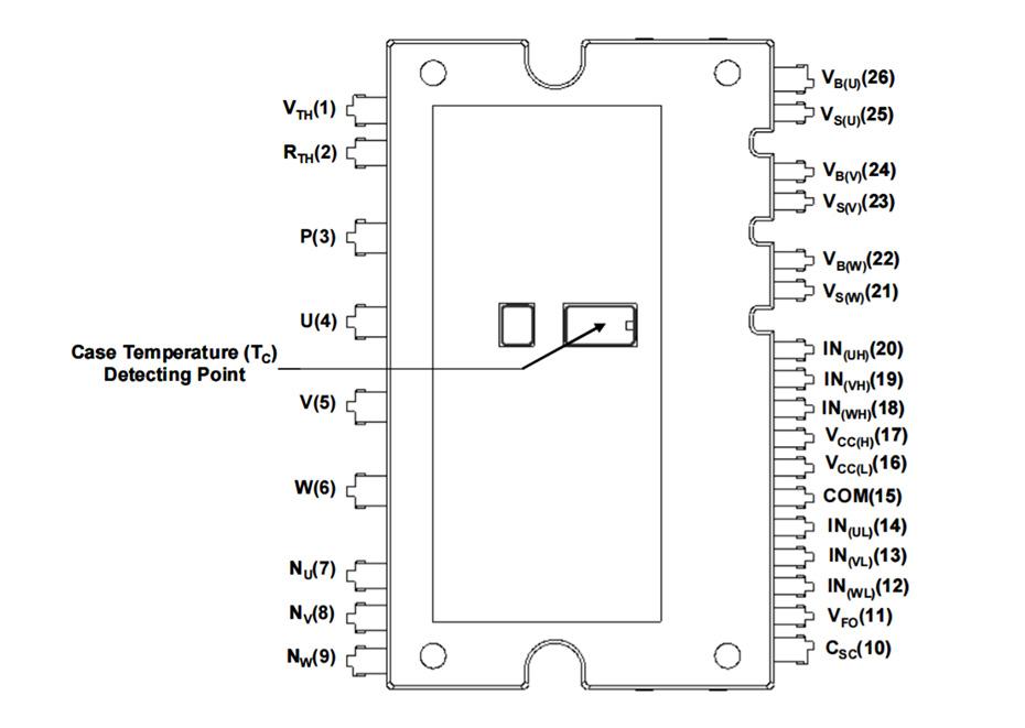 FNC42060F2: Motion SPM® 45 系列块